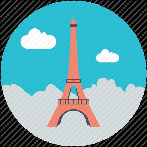 Eiffel Tower, France, Landmark, Paris, Tower Icon