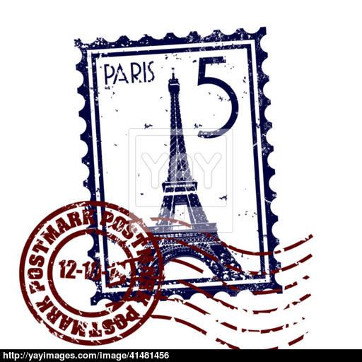 Vector Illustration Of Single Paris Icon Vector