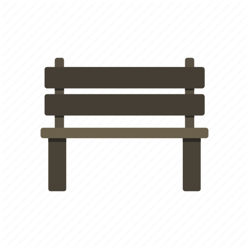 Bench, Garden, Outdoor, Park, Wood Icon