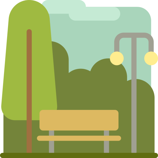 Park Bench Png Icon