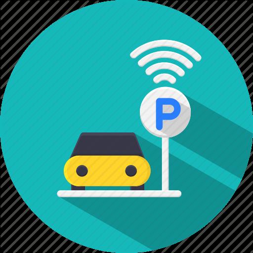 Automatic, Car, Park, Parking, Smart, Vehicle Icon
