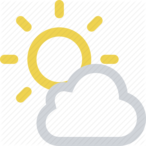 Cloud, Clouds, Cloudy, Day, Partly, Sun, Sunny, Weather Icon