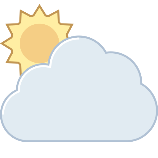 Pictures Of Partly Cloudy Icon Png