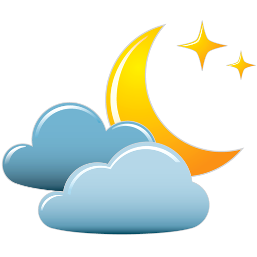 Night Cloudy Download Free Icons