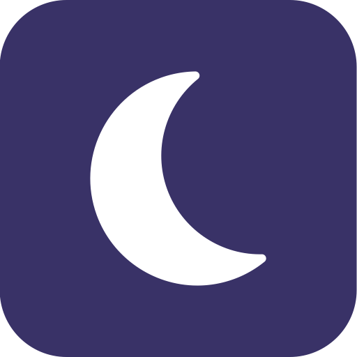 Moon, Night, Clear, Weather Icon