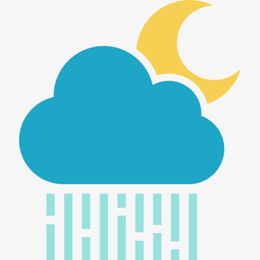 Partly Cloudy, Rain, The Weather Png Image And Clipart For Free