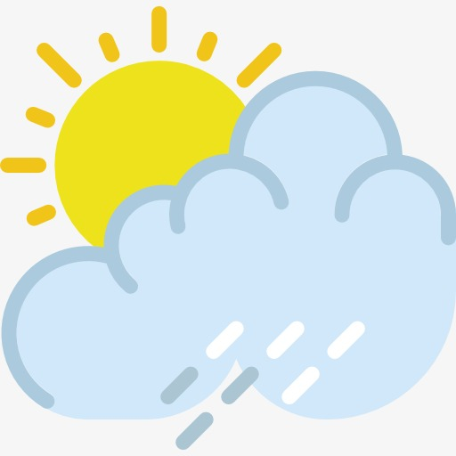 Several Weather Icon, Weather Clipart, Rain, Cloudy Day Png Image