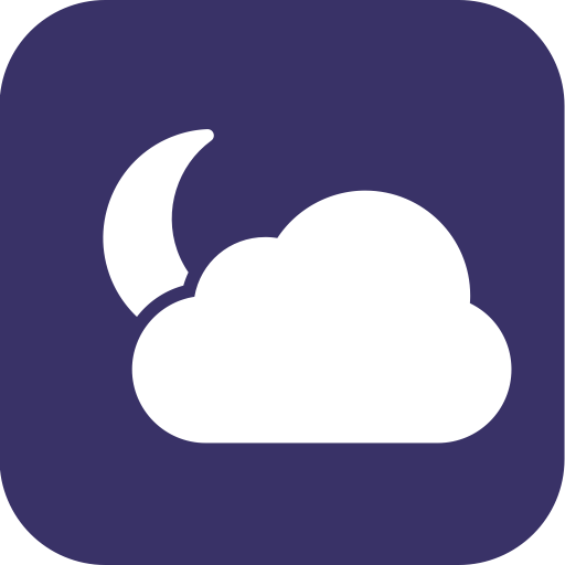 Night, Cloudy, Partlycloudy, Partly, Weather Icon
