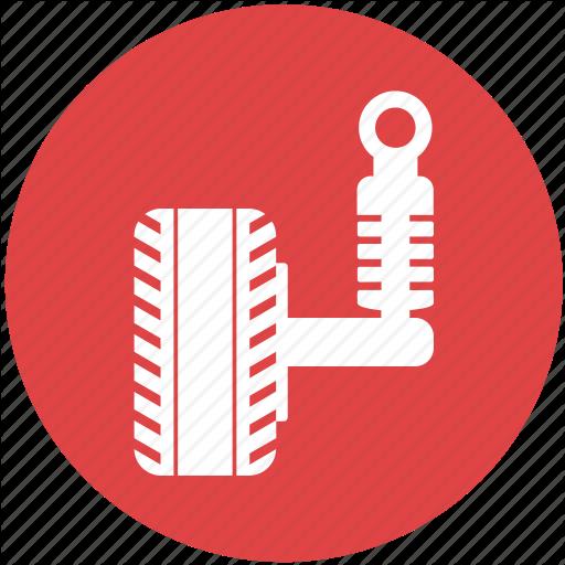 Car, Parts, Race, Suspension, Vehicle Icon