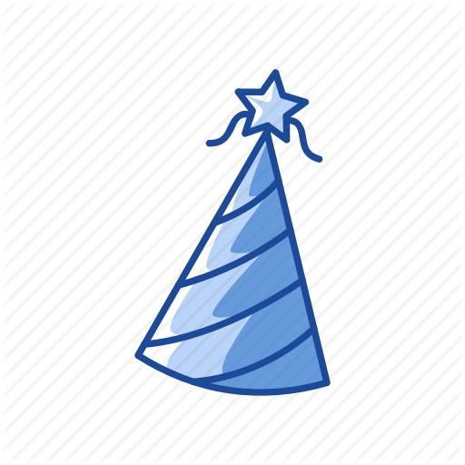 Birthday Hat, Celebration, Hat, Party Hat Icon