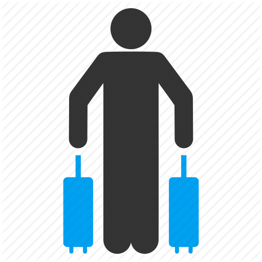 Arrival, Baggage, Case, Luggage, Passenger, Suitcase, Travel Icon