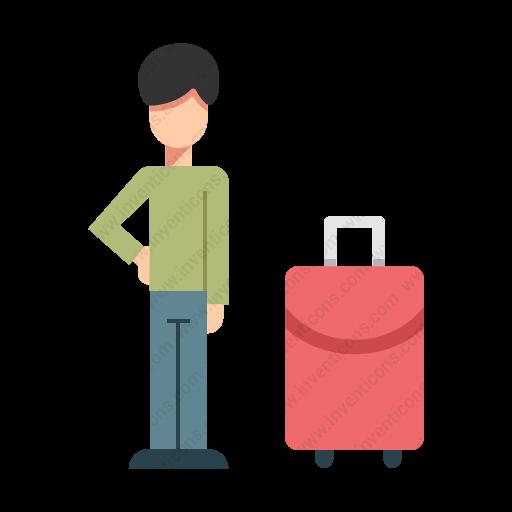 Download Passenger Icon Inventicons