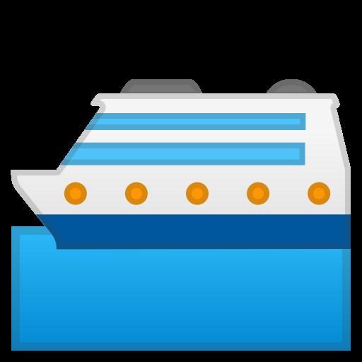 Passenger Ship Icon Noto Emoji Travel Places Iconset Google