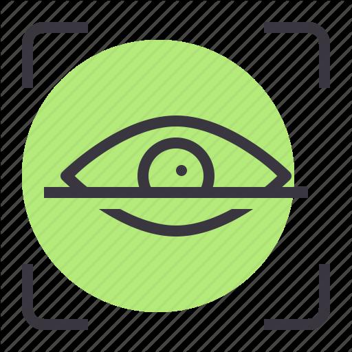 Eye, Password, Protection, Retina, Safe, Scan, Security Icon