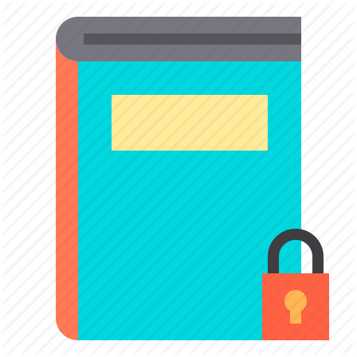 Agenda, Book, Business, Lock, Notebook, Password Icon