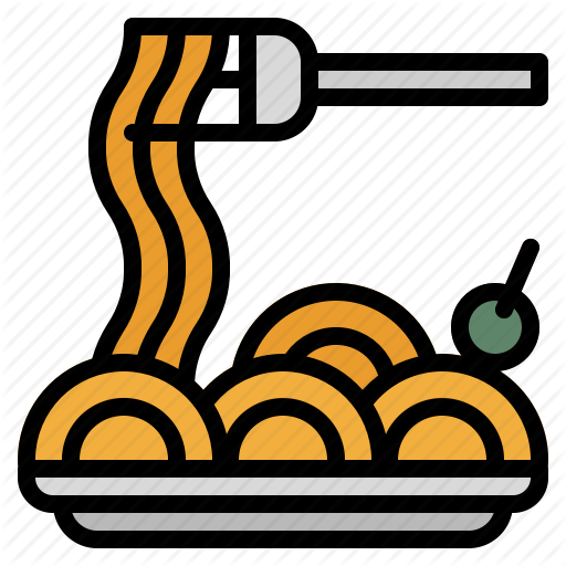 Bowl, Dish, Food, Italian, Pasta, Plate, Spaghetti Icon