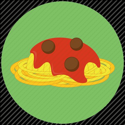 Food, Italian Food, Pasta, Spaghetti Icon