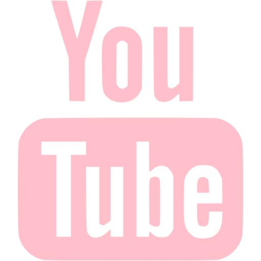 Pink Youtube Icon