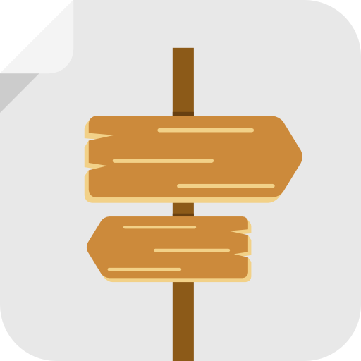 Signs, Signal, Road, Path, Wood, Signs Icon Free Of Flat Icons Bundle