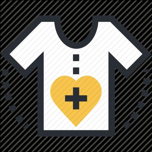 Clothes, Patient, Patient Shirt, Shirt, T Shirt Icon