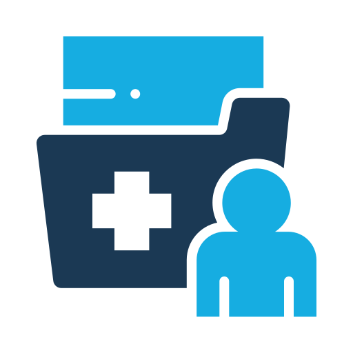 Folder, Medical Patient Icon Free Of Medical Flat Color