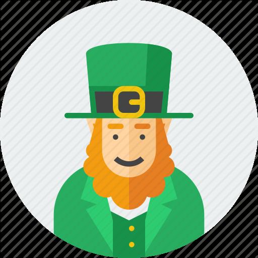 Hat, Irish, Leprechaun, Patrick, Saint, St Patrick, Stpatricksday Icon