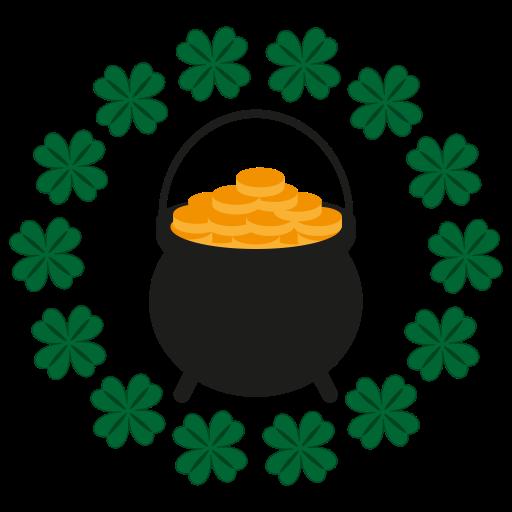 Gold, Happy, Hat, St, Saint, Patrick, Cllover Icon