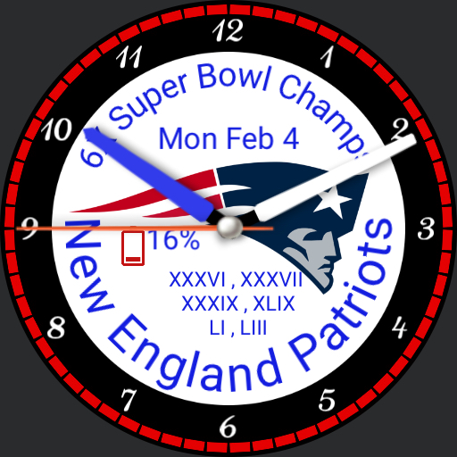 Patriots For Huawei Watch