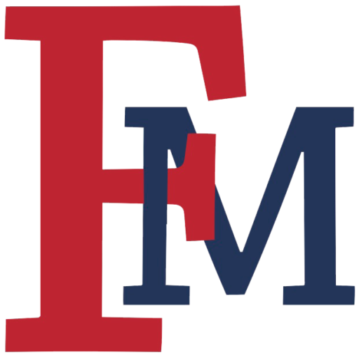 Red And Blue Fmu Logo Francis Marion University
