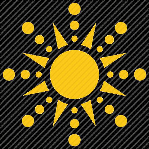 Floral Sun, Sun, Sun Ornament, Sun Pattern, Sunshine Icon