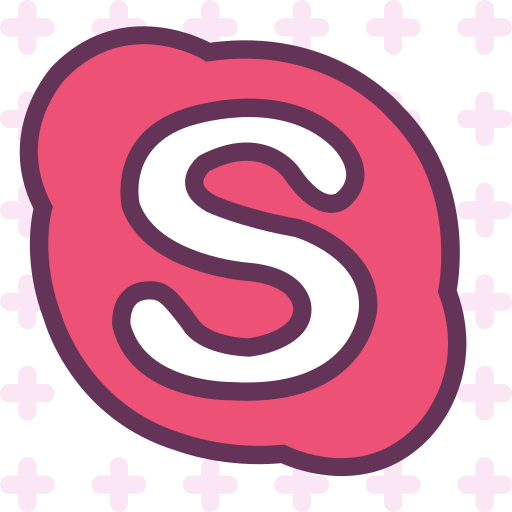 Skype, Social, Network, Brand, Logo Icon Free Of Brands Pattern Icons
