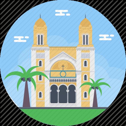 Avenue Habib Bourguiba, Cathedral Of St Vincent De Paul, Roman