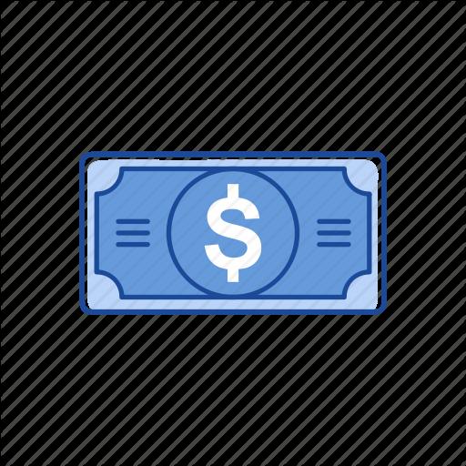 Bill, Cash, Dollar, Money Icon