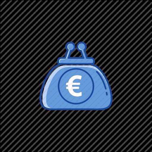 Euro, Money, Purse, Wallet Icon