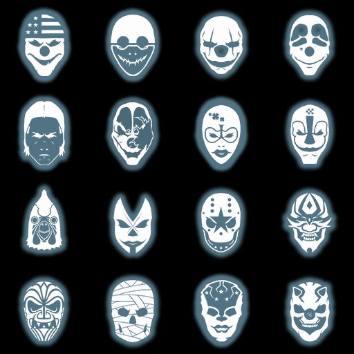 Crime Net Character Icons