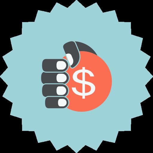 Shopping E Commerce Dollar Icon