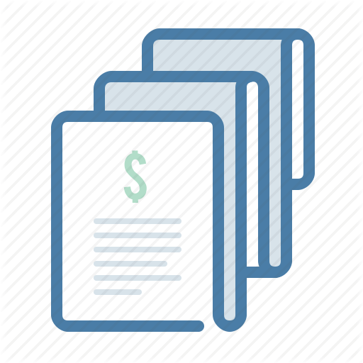 Billing, Payment, Payroll, Salary Icon