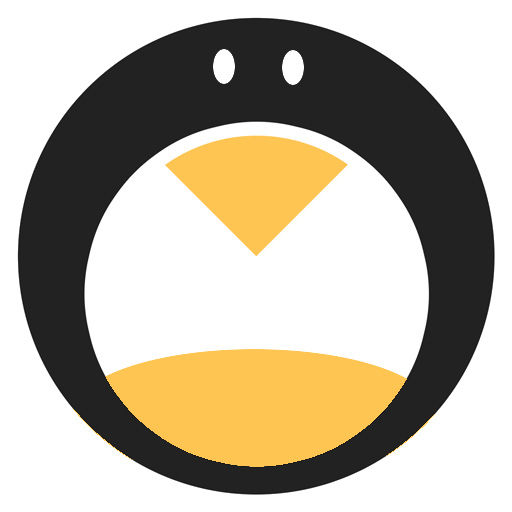 I Tried Improving The Minimalist Tux Posted Here Linuxmasterrace