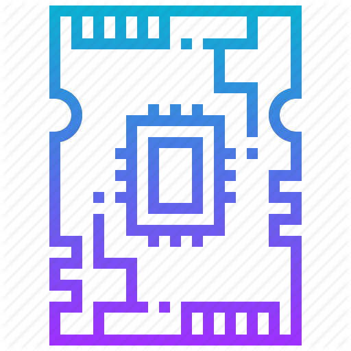 Board, Circuit, Engineering, Pcb, Robotic, Technology Icon