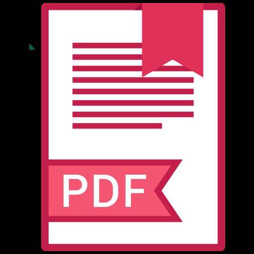 , Extension, Pdf, Filetype Icon Free Of Extension Names Vol