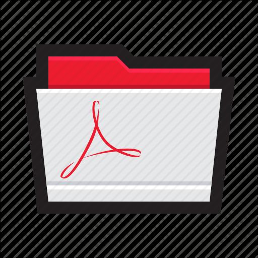 Acrobat, Adobe, Books, Ebooks, Folder, Pdf Icon