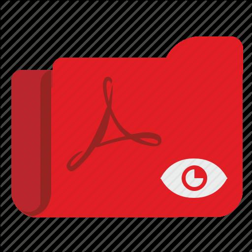 Api, File, Folder, Pdf, Preview, Reader, View Icon