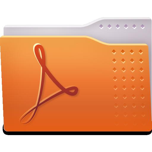 Places Folder Pdf Icon Fs Ubuntu Iconset