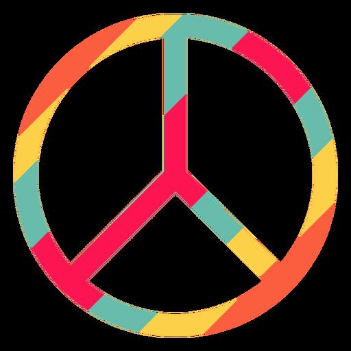 Peace Symbol Hippie Element