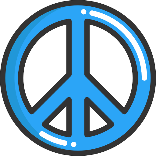 Shapes And Symbols, Hippie, Peace Icon