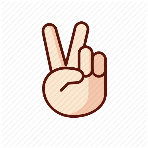 Gesture, Hand, Peace, Sign Icon