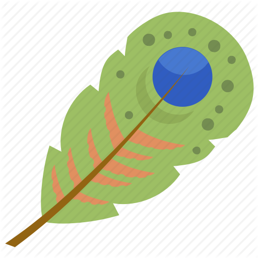 Feather, Peacock Feather, Plumage, Plume, Quill Feather Icon