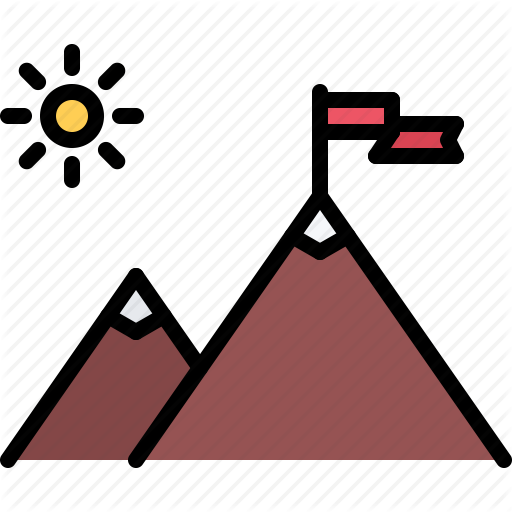 Business, Discovery, Flag, Job, Mountain, Office, Peak Icon