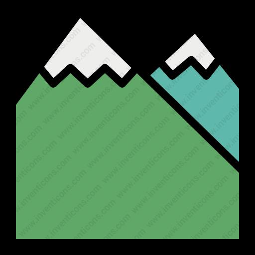 Download Mountain,terrain,hiking,place,peak,high,naturalscenery