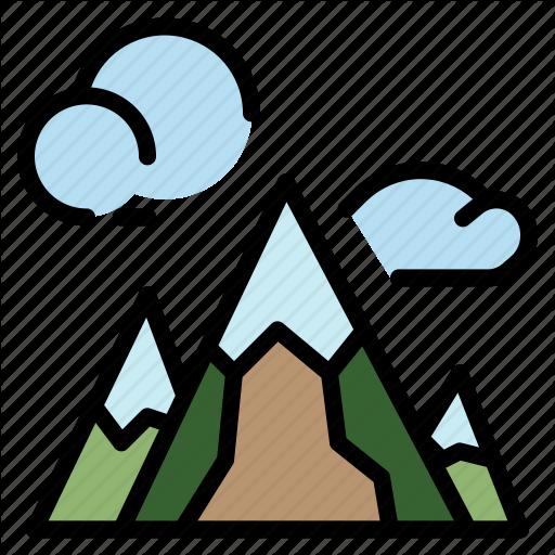 Hill, Landscape, Mountain, Nature, Peak Icon